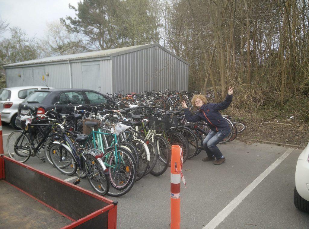Cykeloprydning af trafikudvalget