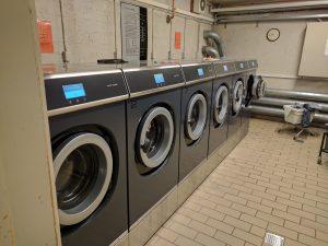 Vaskemaskinerne du kan lave en booking på